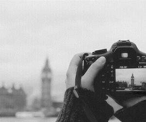 london, camera, and photo image