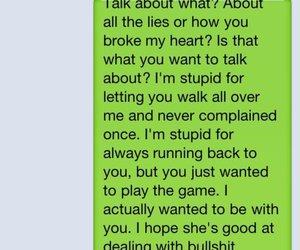 heart broken, betrayal, and text image