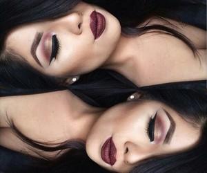 makeup and eyeliner image