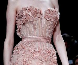 dress, elie, and pink image