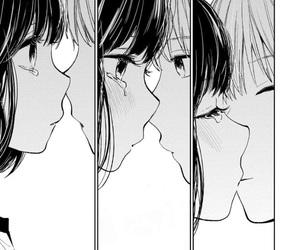 manga, scum's wish, and monochrome image