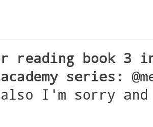 me, va, and vampire academy series image