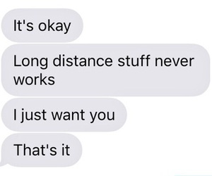 distance, goals, and sad image