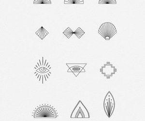 tattoo, draw, and mandala image