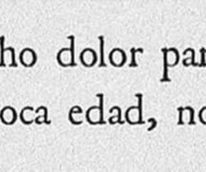 frases, tristeza, and dolor image