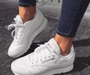 shoes, fashion, and reebok image
