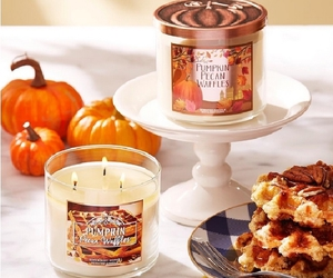candles, fall, and bath and body works image