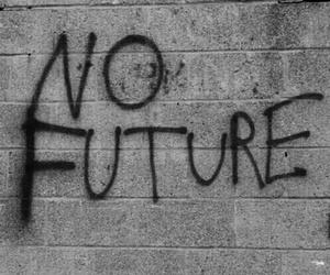 future, wall, and no future image