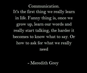 grey's anatomy, quote, and meredith grey image