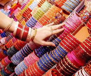 bangles, rings, and colors image