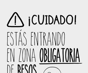 beso, Besos, and cuidado image