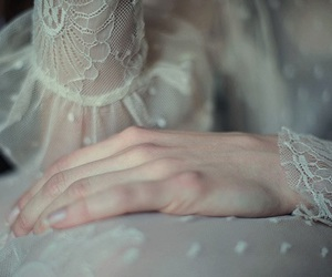 vintage, lace, and girly image