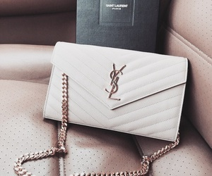 bag, YSL, and fashion image