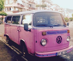 hippie, oldie, and pink image