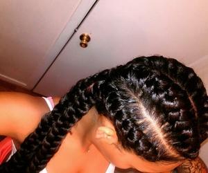 pretty, baddie, and goddess braids image