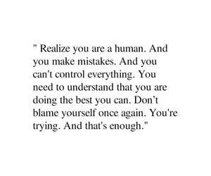 quotes, human, and mistakes image