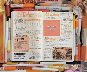 college, planner, and studyblr image
