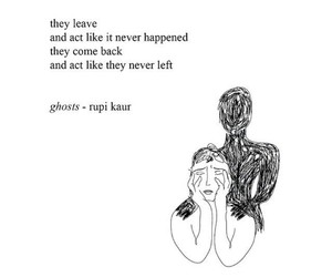quotes, sad, and ghost image