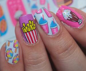 nail art, nails, and pretty image