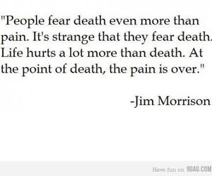 Jim Morrison, quote, and death image