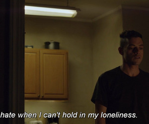quotes, sad, and mr robot image