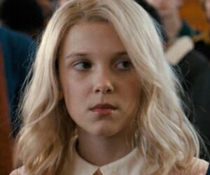 icon, eleven, and stranger things image