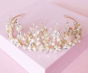 crown, princess, and girly image
