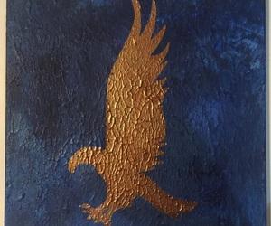 eagle, hogwarts, and ravenclaw image