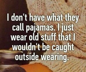 funny, girls, and pajamas image