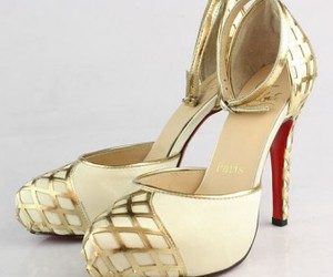 christian louboutin, sandals, and red bottom sandals image