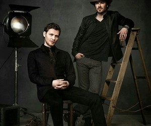 joseph morgan, ian somerhalder, and The Originals image
