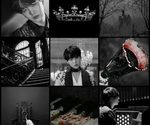 blood, moodboard, and prince image