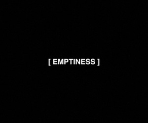 black, emptiness, and empty image