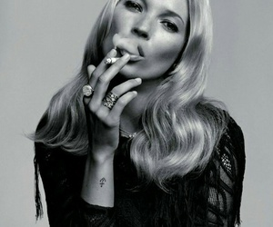 black and kate moss image