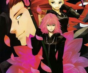 anime girl, kingdom hearts, and anime boy image