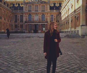 actress, beautiful, and chateau de versailles image