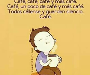 cafe, frases, and mañana image