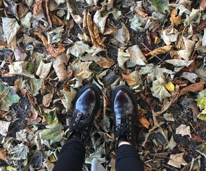 autumn, doc martins, and fall fashion image