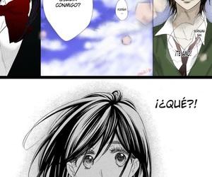 confession, heroine, and manga image