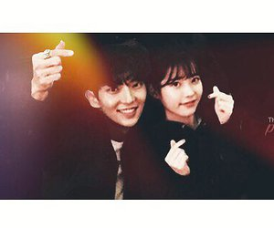 lee jun ki, iu, and lee ji eun image