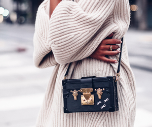 fashion, Louis Vuitton, and sweater image