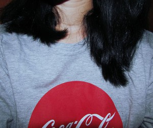 black, teenager, and cocacola image