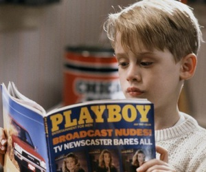 Playboy, home alone, and boy image