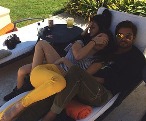 kendall jenner, kylie jenner, and scott disick image