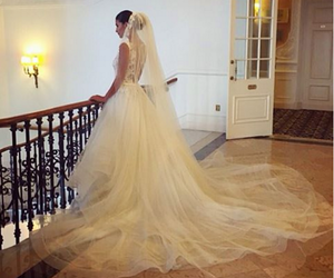bride, fashion, and infinity image