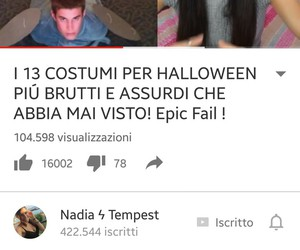 youtube italia, unicorni, and nadia tempest image