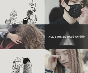 angst, Collage, and bona image