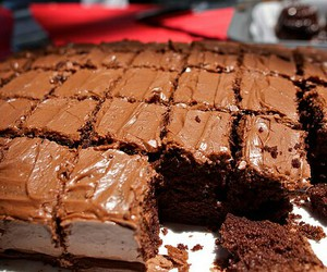 chocolate, food, and cake image