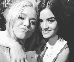 lucy hale, pll, and sasha pieterse image