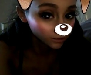 SC, snap, and ariana grande image